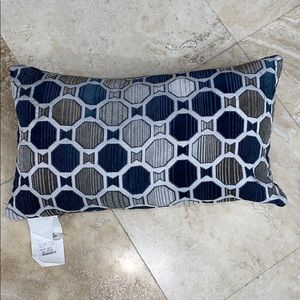 NWT Lumbar Feather Pillow